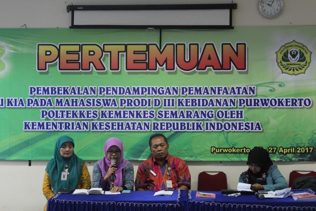 Pembukaan oleh Ketua Jurusan Kebidanan Poltekkes Kemenkes Semarang