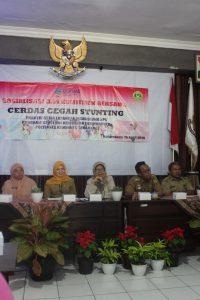 Sambutan oleh Ketua Prodi D III Kebidanan Purwokerto